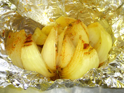 Baked Onion Side Dish